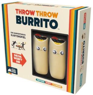Schachtel Vorderseite- Throw Throw Burrito