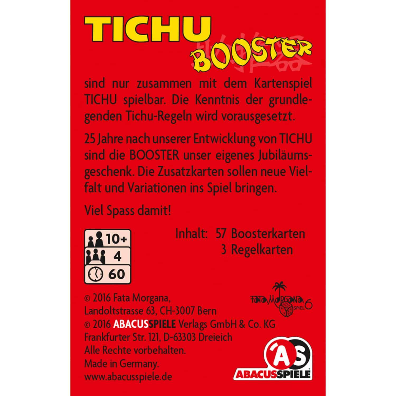 Schachtel Rückseite- Tichu Booster