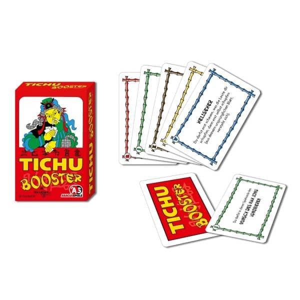 Schachtel und Spielkarten- Tichu Booster