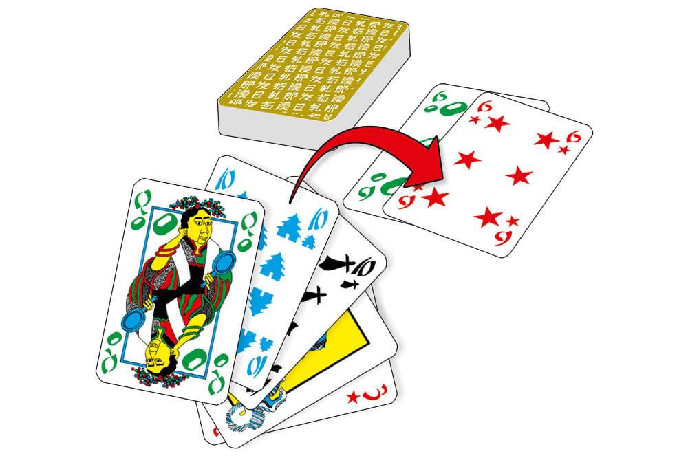 Spielkarten- Tichu Pocketbox