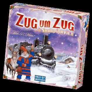 Schachtel Vorderseite- Zug um Zug - Skandinavien