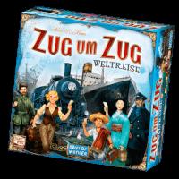 Schachtel Vorderseite - Zug um Zug: Weltreise