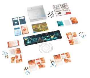 Schönes Spielmaterial - Die Fortsetzung des kooperativen Brettspiel-Hits- T.I.M.E. Stories - Revolution: Ein Sommernachtstraum