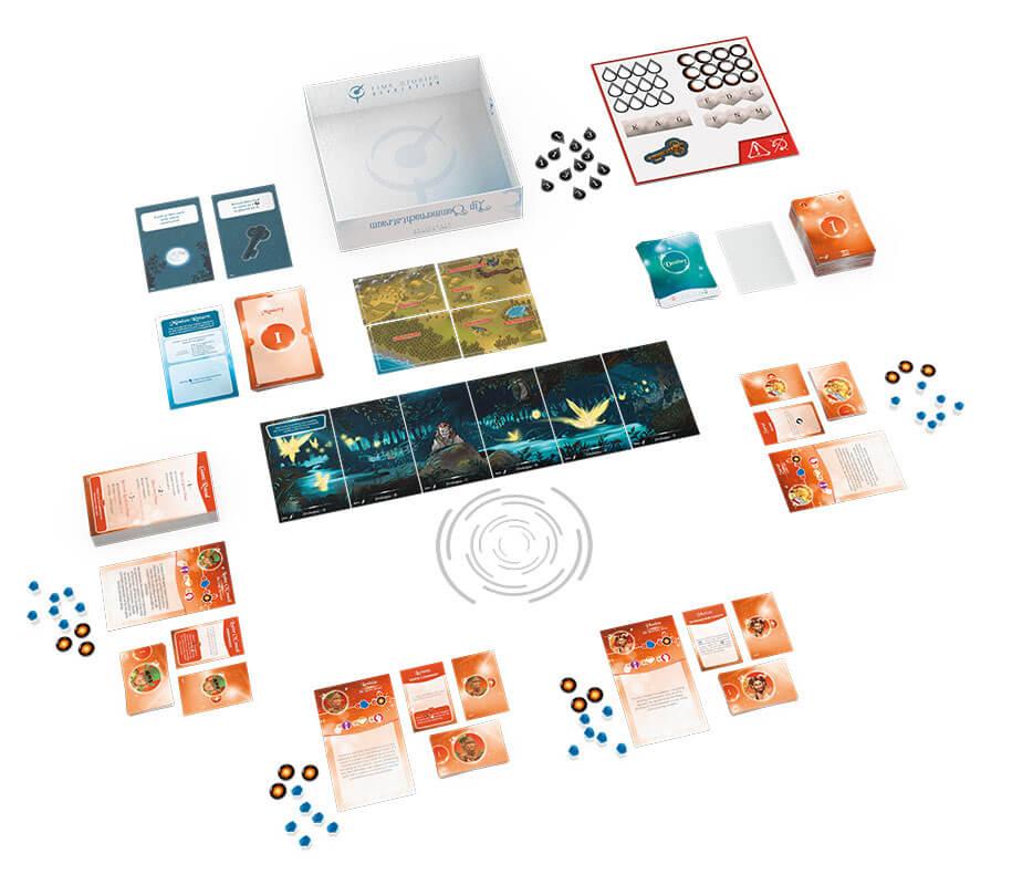 Schönes Spielmaterial - Die Fortsetzung des kooperativen Brettspiel-Hits- Time Stories - Revolution: Ein Sommernachtstraum