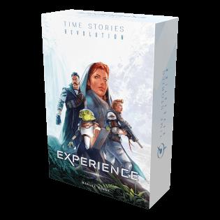 Schachtel Vorderseite- T.I.M.E. Stories - Revolution: Experience