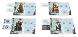 Spielmaterial- T.I.M.E. Stories - Revolution: Experience