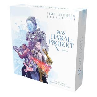 Schachtel Vorderseite - Die Fortsetzung des kooperativen Brettspiel-Hits- T.I.M.E. Stories - Revolution: Das Hadal-Projekt