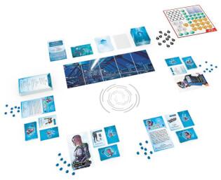 Schönes Spielmaterial - Die Fortsetzung des kooperativen Brettspiel-Hits- T.I.M.E. Stories - Revolution: Das Hadal-Projekt