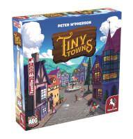 Schachtel Vorderseite, linke Seite - Tiny Towns