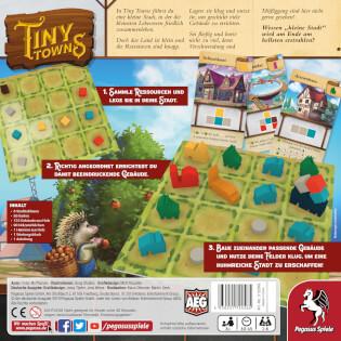 Schachtel Rückseite- Tiny Towns