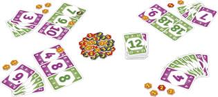 Spielmaterial - Karten und Chips- Chip it