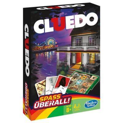 Schachtel Vorderseite- Cluedo - Kompakt