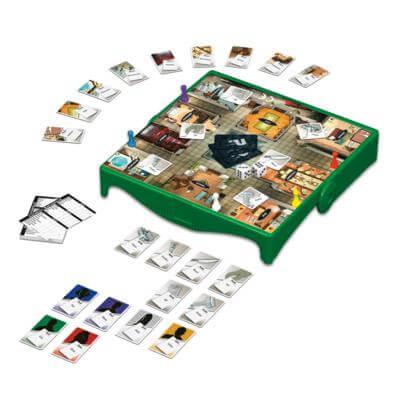 Spielmaterial- Cluedo - Kompakt