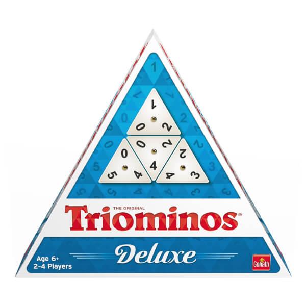 Schachtel Vorderseite- Triominos Deluxe