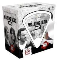 Schachtel Vorderseite, linke Seite - Trivial Pursuit - The Walking Dead AMC