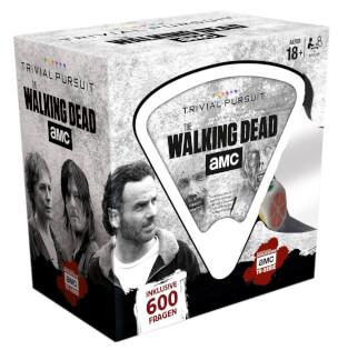 Schachtel Vorderseite, linke Seite- Trivial Pursuit - The Walking Dead AMC