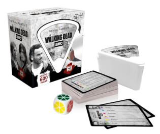 Schachtel und Spielmaterial- Trivial Pursuit - The Walking Dead AMC