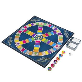 Spielplan mit Karten und Spielfiguren- Trivial Pursuit - Classic Edition