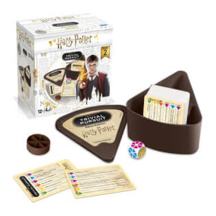 Spielschachtel, Würfel und Spielkarten- Trivial Pursuit - Harry Potter Volume 2