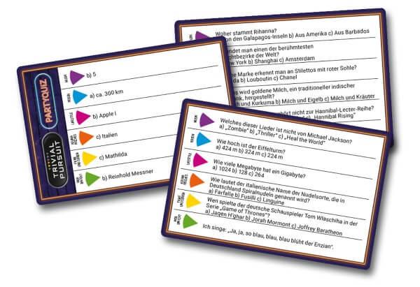 Spielkarten- Trivial Pursuit - Party Quiz