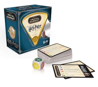 Spielmaterial - Karten und Würfel- Trivial Pursuit - Harry Potter