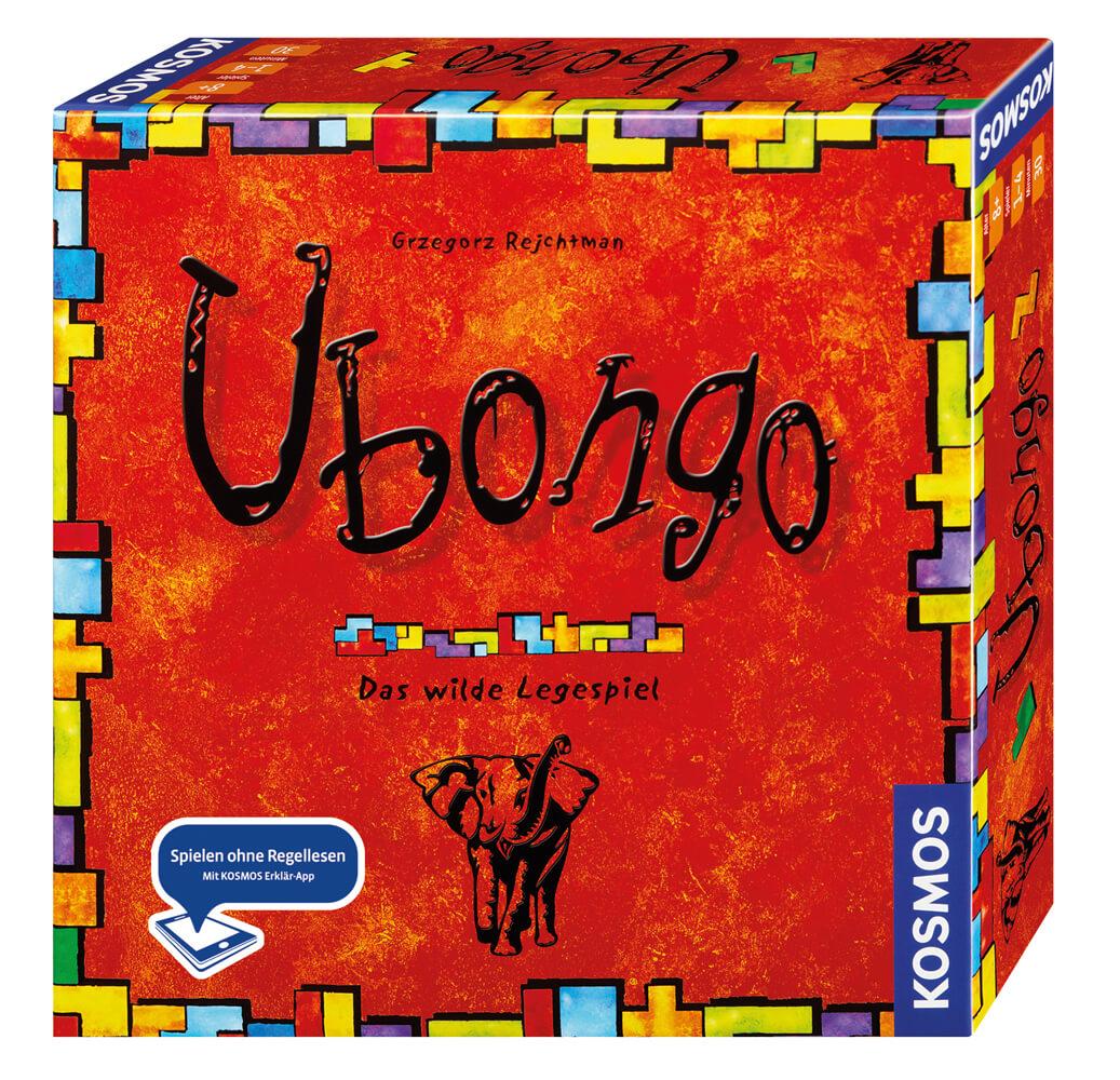 Schachtel Vorderseite, rechte Seite- Ubongo - Neue Edition