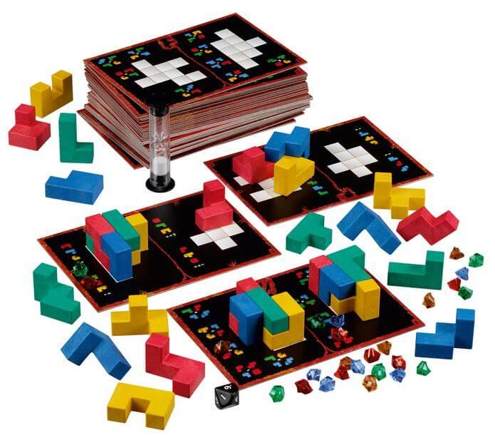Spielmaterial- Ubongo - 3-D