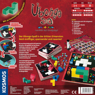 Schachtel Rückseite- Ubongo - 3-D