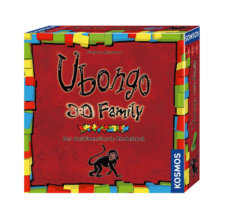 Schachtel Vorderseite- Ubongo - 3-D Family