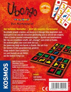 Schachtel Rückseite- Ubongo - Das Kartenspiel
