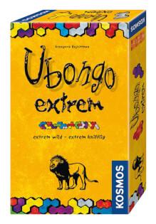 Schachtel Vorderseite, rechte Seite- Ubongo extrem - Mitbringspiel