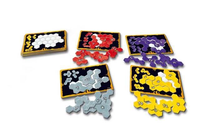 Spielmaterial- Ubongo extrem - Mitbringspiel