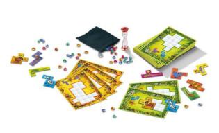 Spielmaterial - Bögen und Bausteine- Ubongo - Junior