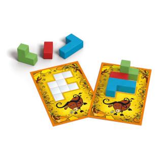 Spielmaterial - Blöcke- Ubongo - Junior 3-D