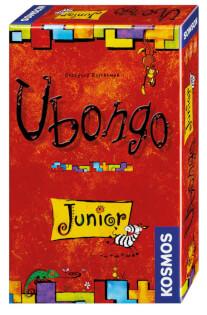 Schachtel Vorderseite, rechte Seite- Ubongo - Junior Mitbringspiel