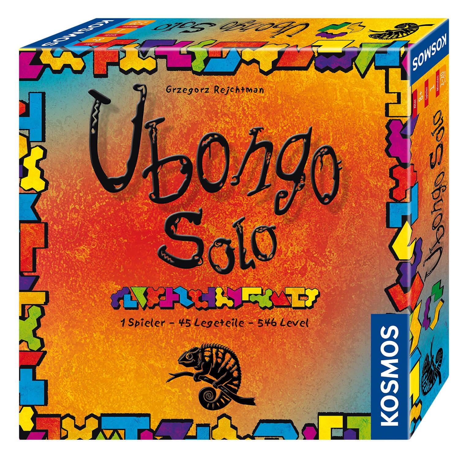 Schachtel Vorderseite- Ubongo - Solo