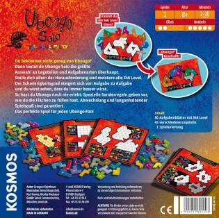 Schachtel Rückseite- Ubongo - Solo