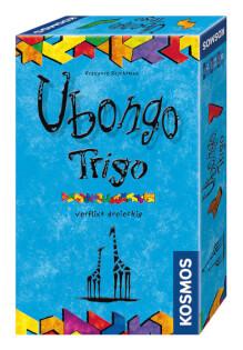 Schachtel Vorderseite- Ubongo - Trigo Mitbringspiel