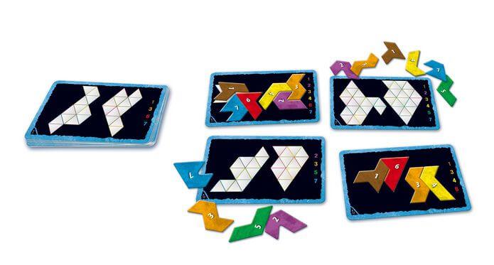 Spielmaterial- Ubongo - Trigo Mitbringspiel