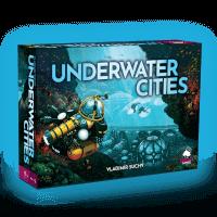 Schachtel Vorderseite - nominiert zum Kennerspiel des Jahres 2020 - Underwater Cities