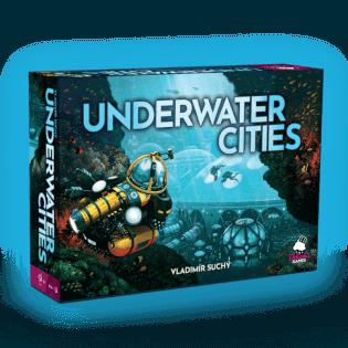 Schachtel Vorderseite - nominiert zum Kennerspiel des Jahres 2020- Underwater Cities