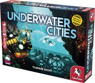 Schachtel Vorderseite- Underwater Cities