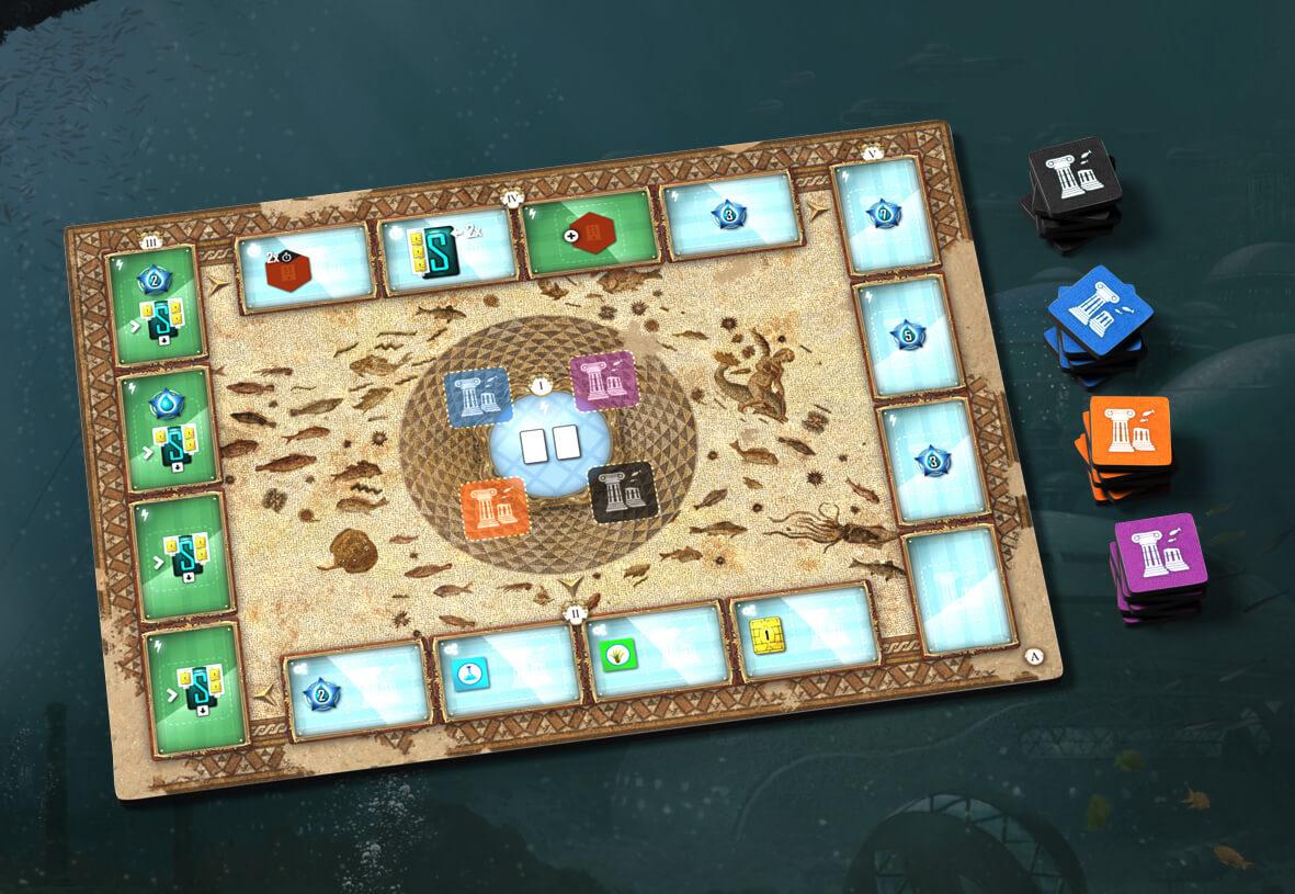 Neuer Spielplan Museum- Underwater Cities: Neue Entdeckungen