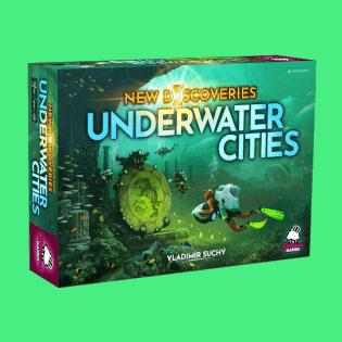 Schachtel Vorderseite- Underwater Cities: Neue Entdeckungen