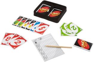Spielmaterial - Karten mit Stift und Block- UNO - Deluxe