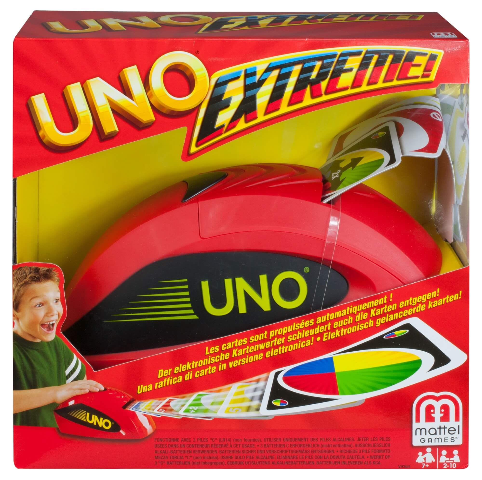 Schachtel Vorderseite- UNO - Extreme