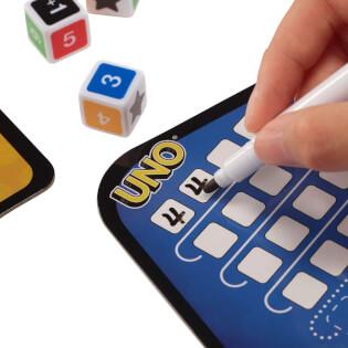 Block und Stift- UNO - Das Würfelspiel