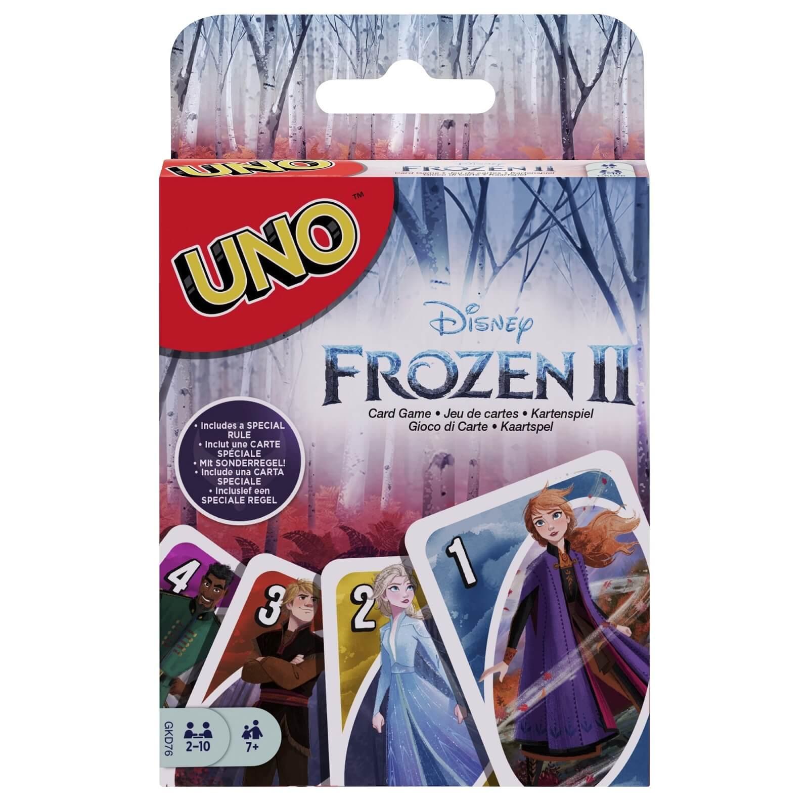 Schachtel Vorderseite- UNO - Frozen II