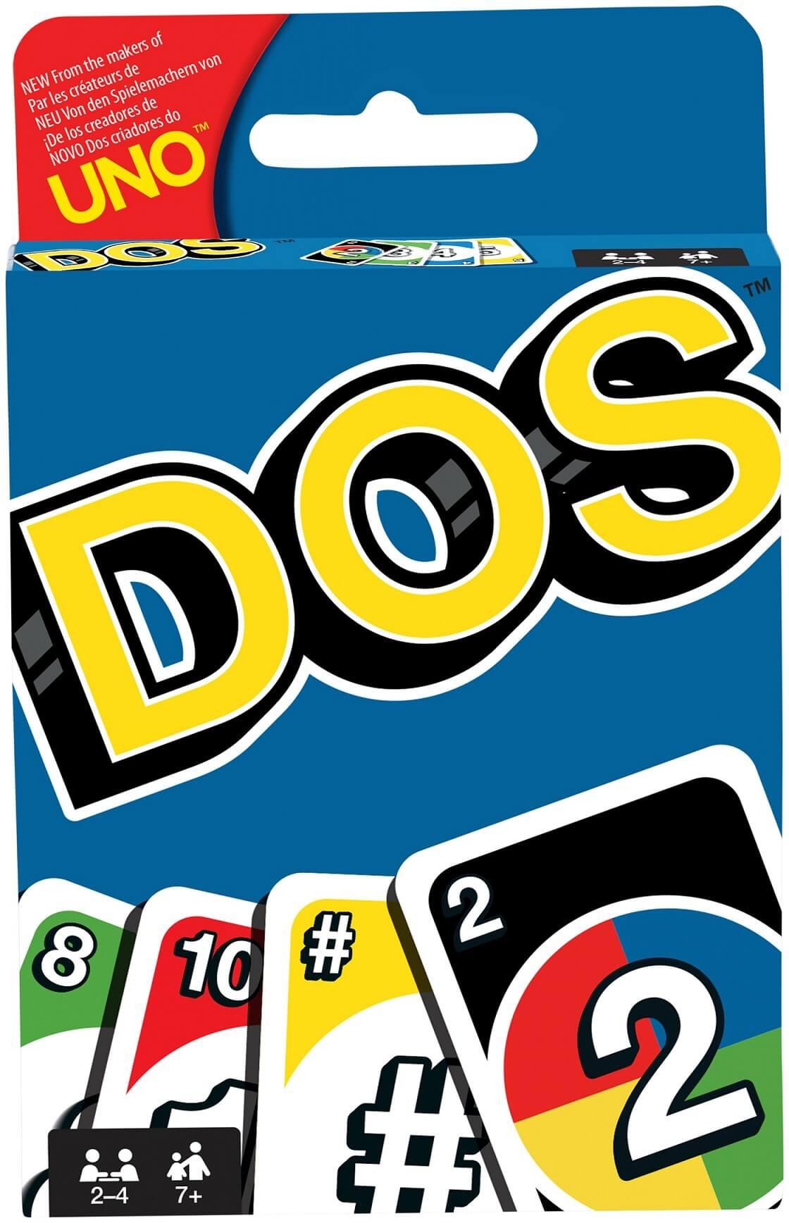 Schachtel Vorderseite- DOS - The card game