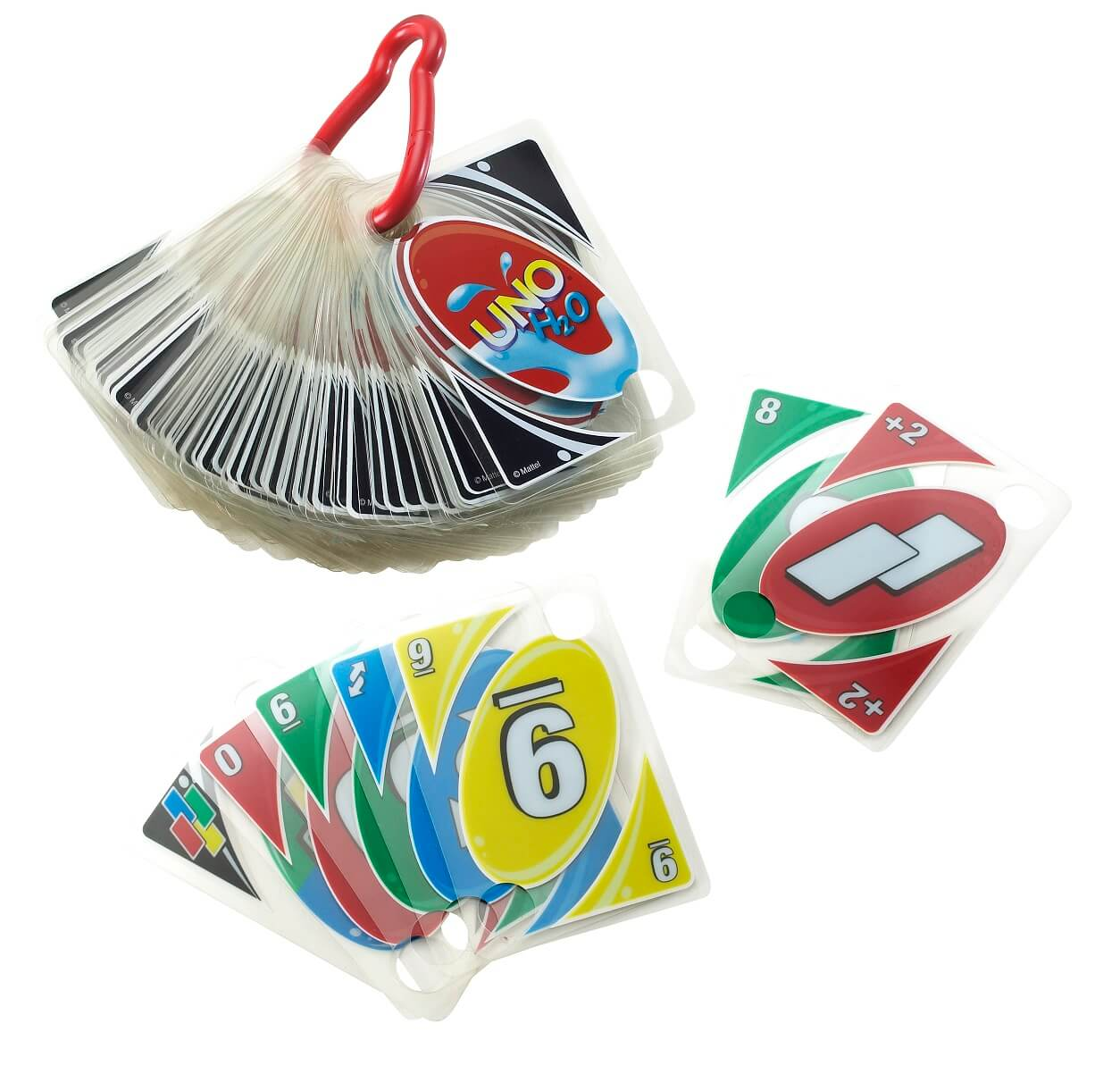 Spielmaterial/Karten- UNO H2O To Go